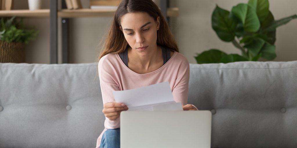 lost job reassess finances