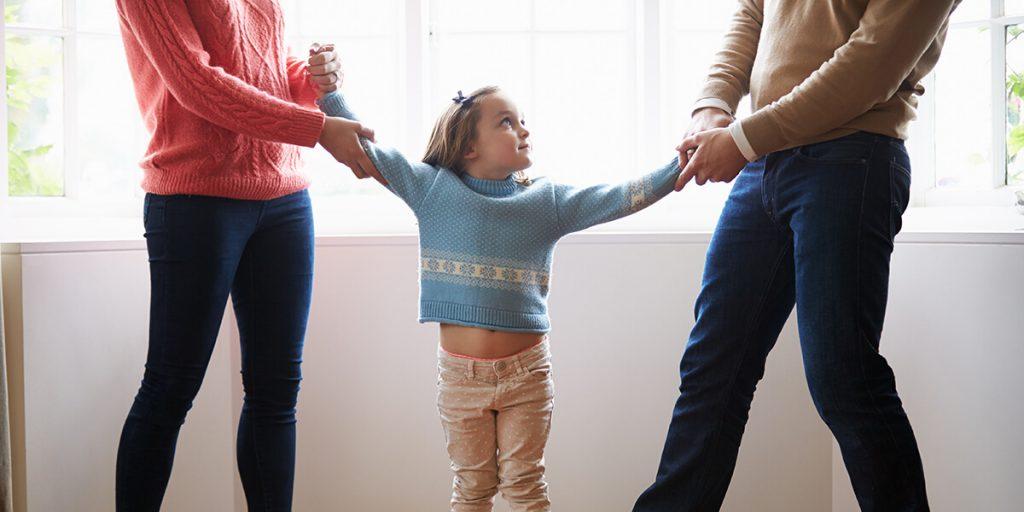 child in divorce fight