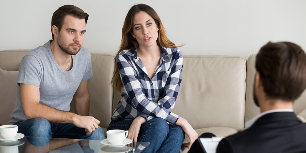 divorce lawyer conversation